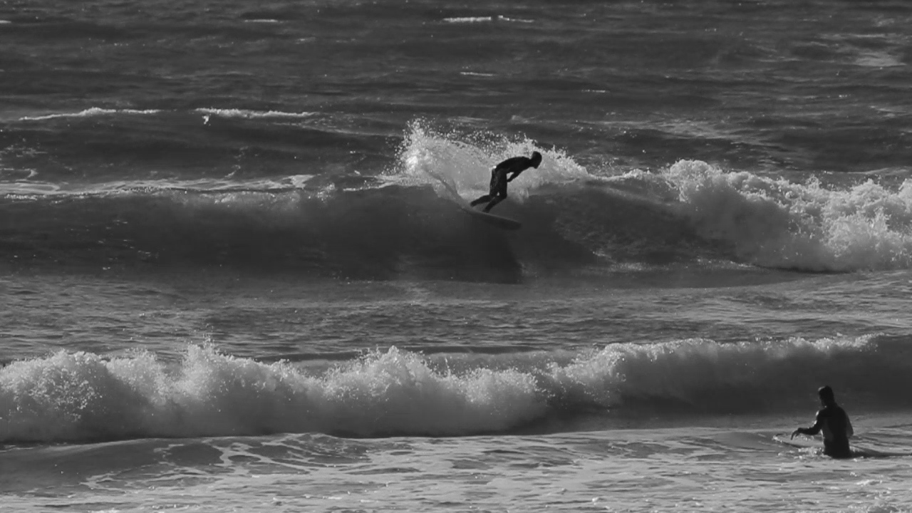"""Ferg is surfing a 5'7"""" twin fin by Malcolm Campbell of the Campbell brother surfboards, check them out here -  http://bonzer5.com"""