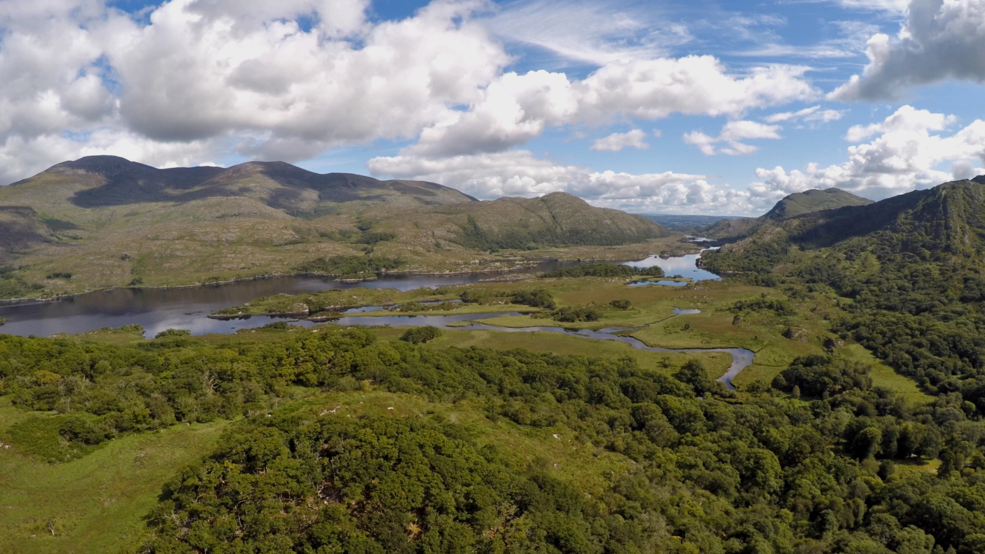 Killarney lakes &  national park. Pic from Kevs Drone