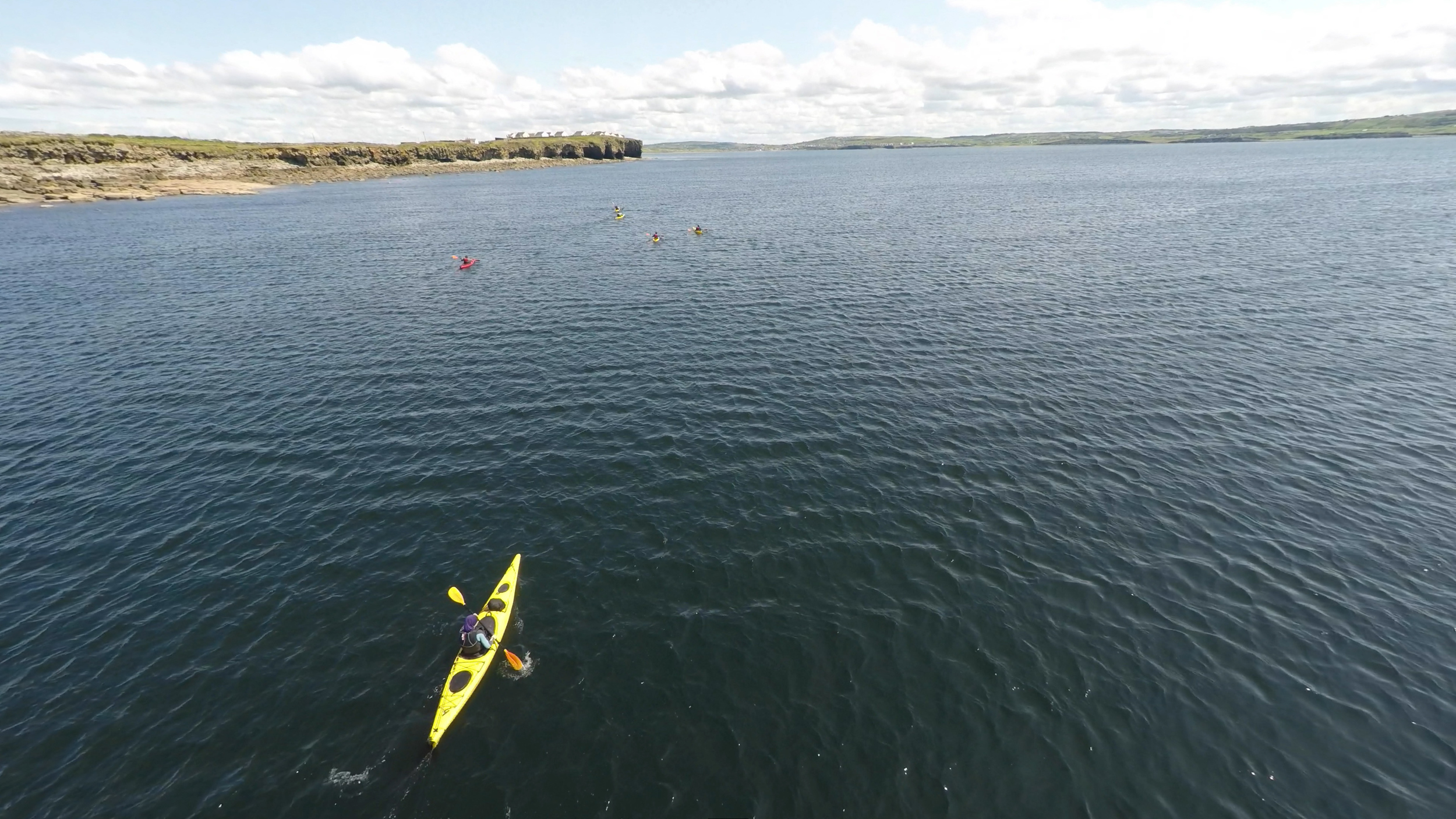North Clare Sea Kayaking show me some nice paddling spots, thanks guys.  www.northclareseakayaking.com