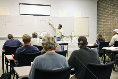 Picture of class in session