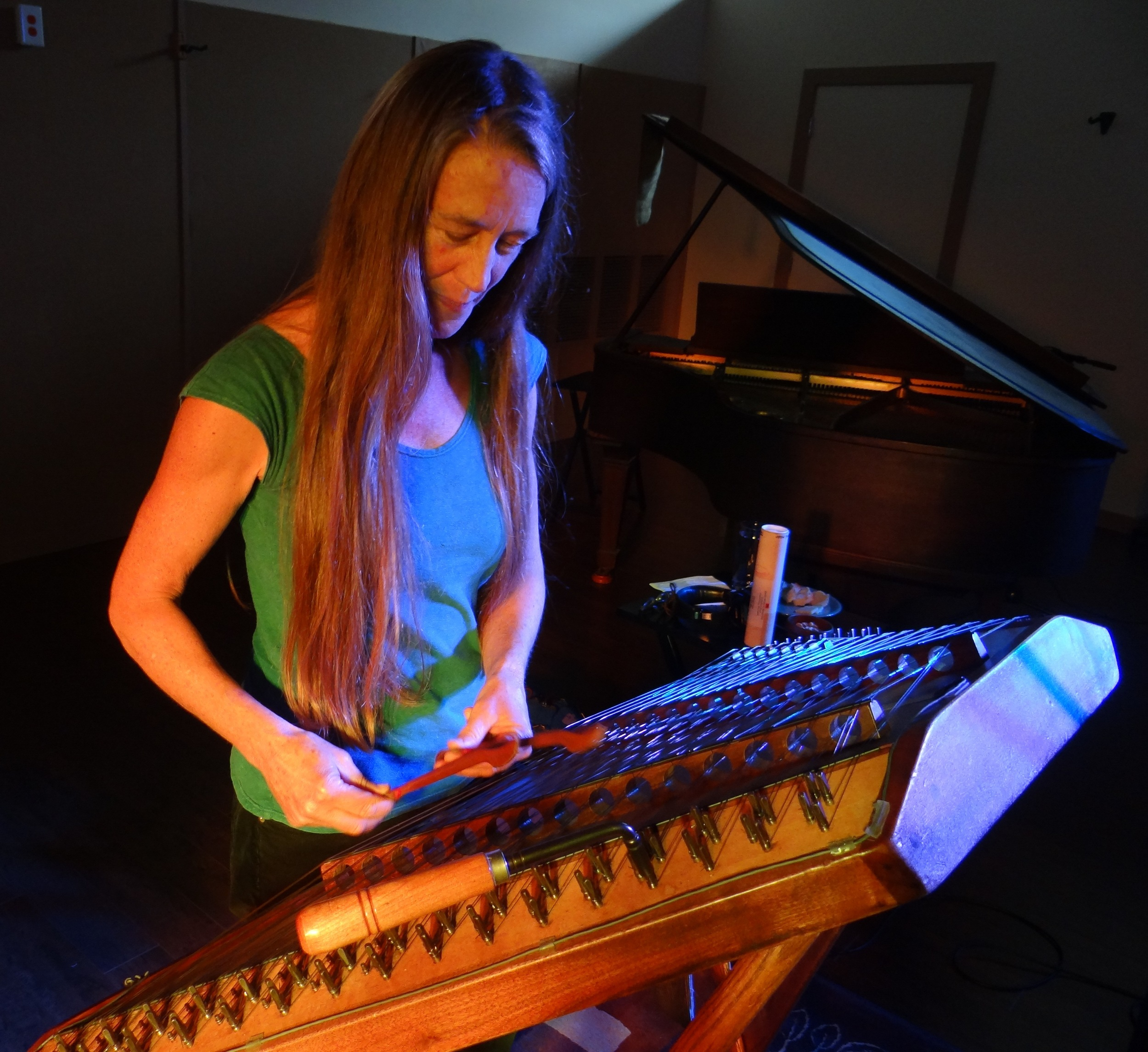"""Hammered dulcimer was exactly the sound needed on """"In The Quiet Stillness""""; Carolyn Cruso does the honors."""