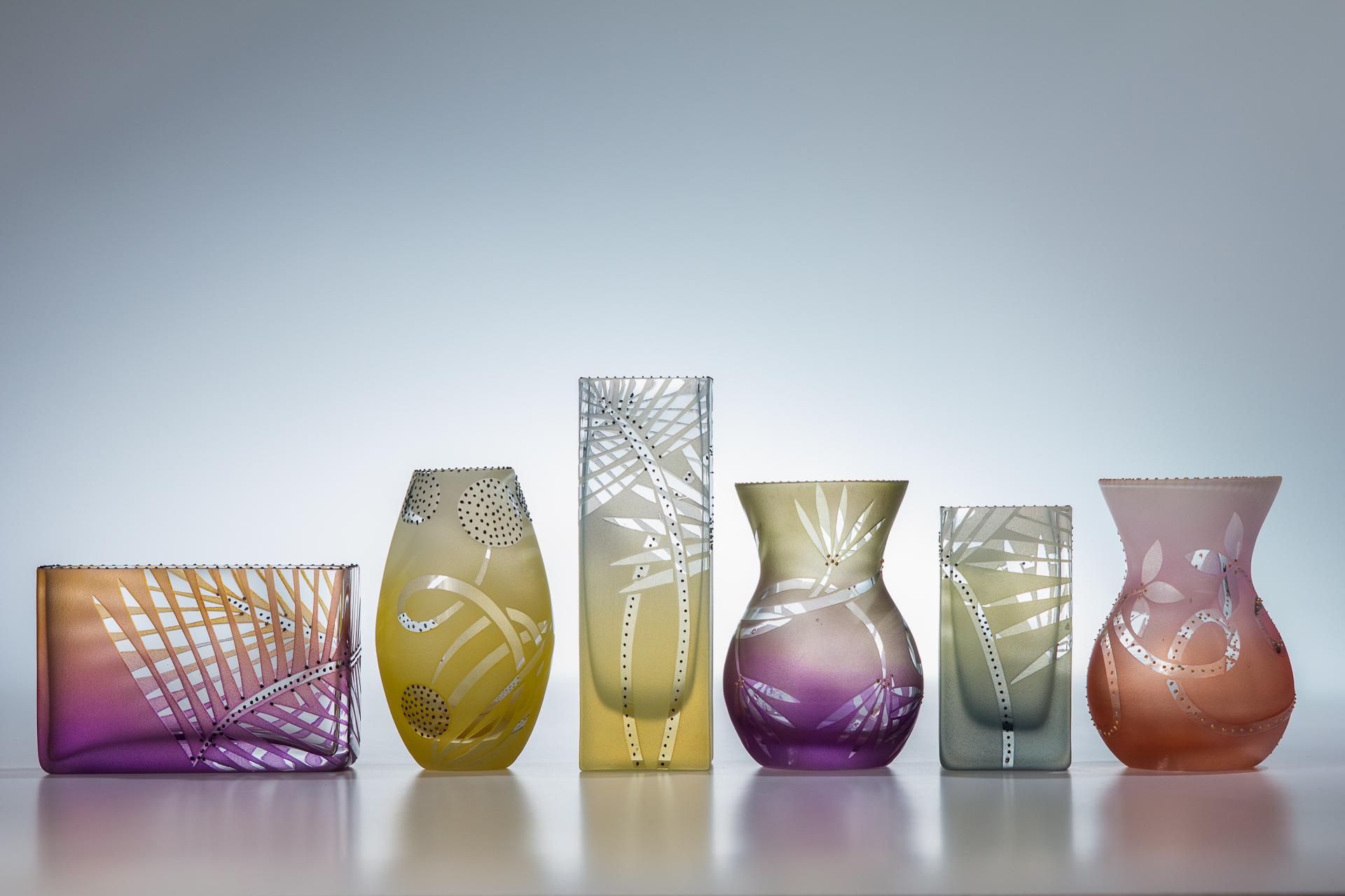 "big tiny vases 3.5 - 5"""