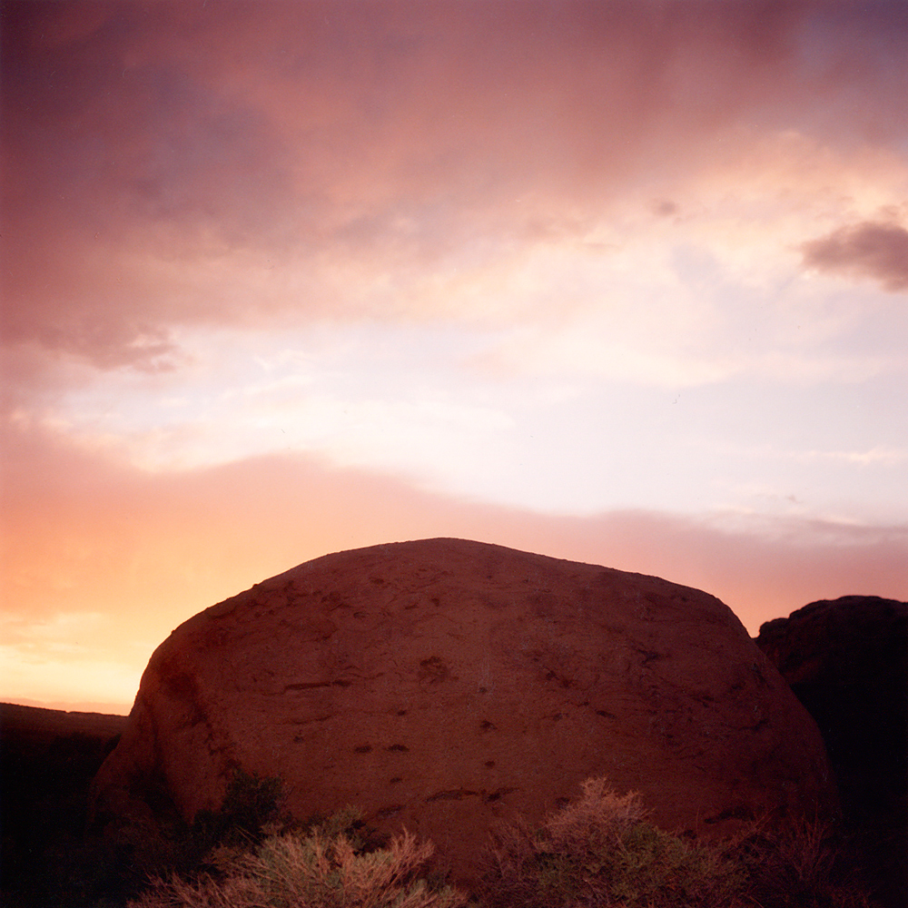 Chaco Rock - Chaco, NM 1991