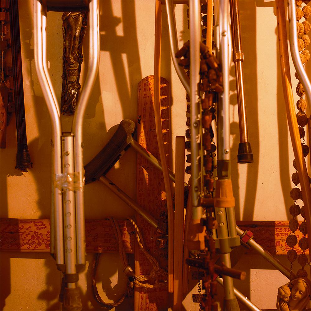 Crutches - Chimayo, NM 1998