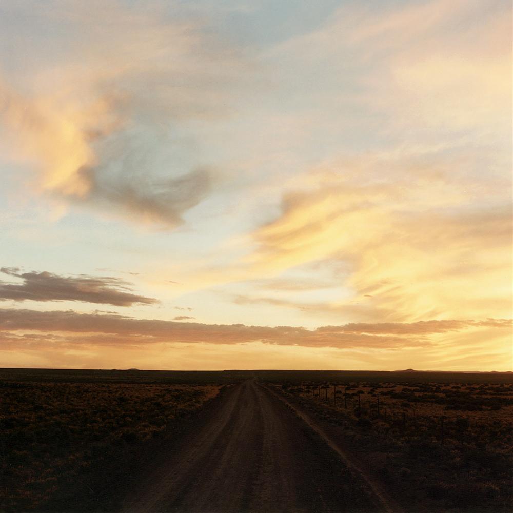 Road Sunset - Taos, NM 1990
