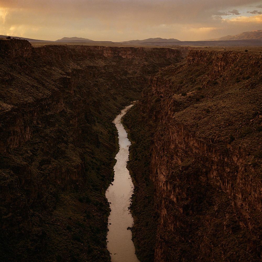 Rio Grande - Taos, NM 1990