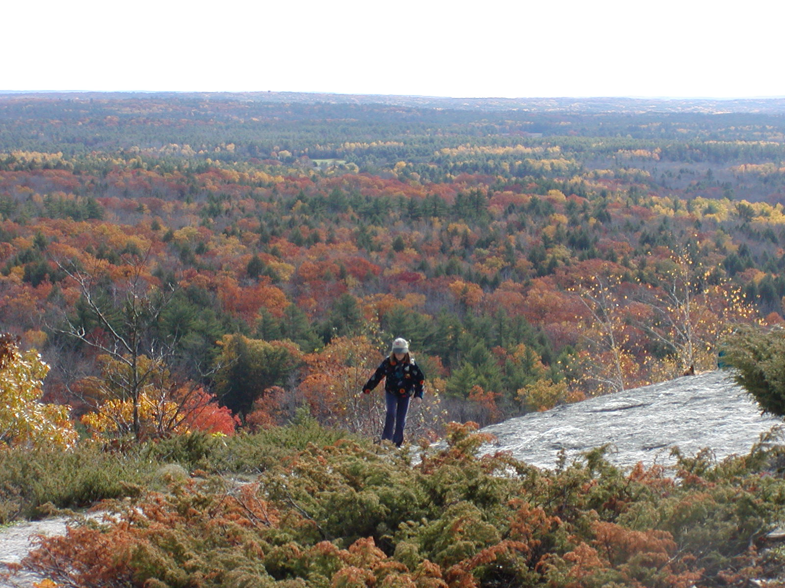 We'll be revisiting Bradbury Mountain in Pownal, ME this weekend.