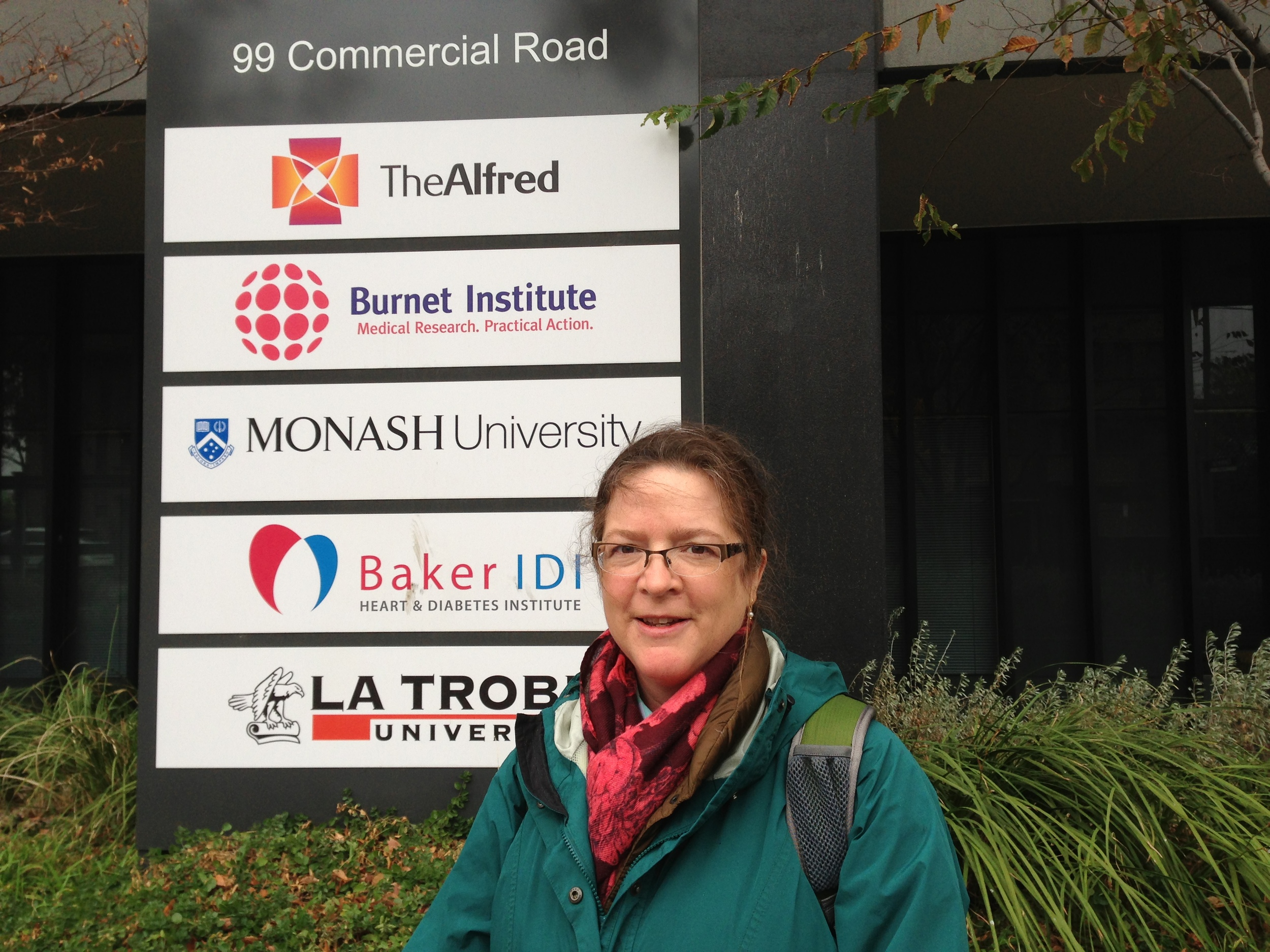 Beyond thrilled to be at Monash University in Australia, 2013.