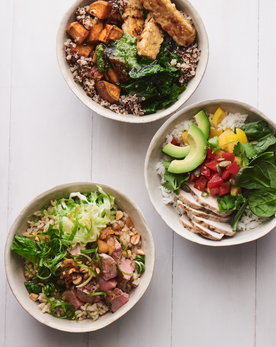 Grain Bowl Combos.  The IBS Elimination Diet and Cookbook  includes 56 new low-FODMAP recipes and 25 inspirational color photos.