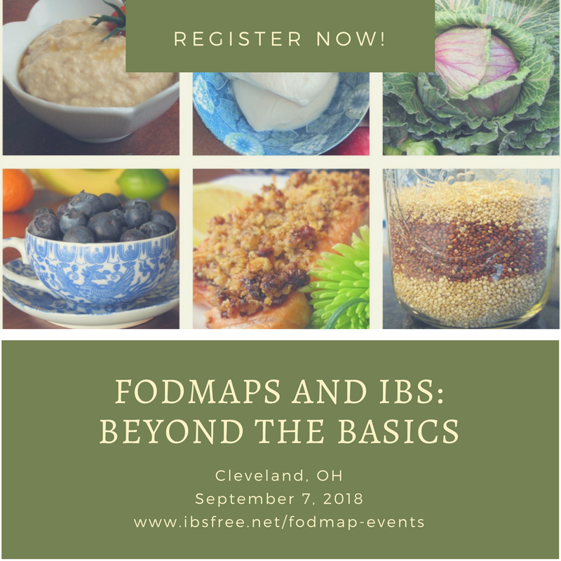 Cleveland FODMAP Workshop by Patsy Catsos