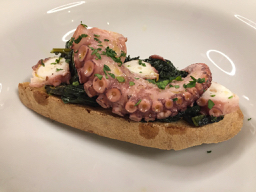 """I wish that I had noted the translation for """"squid"""" before my trip to Italy, as the dish I ordered in Prato the night before Monash's GastroDiet 2017 was not what I expected! Luckily it was delicious."""