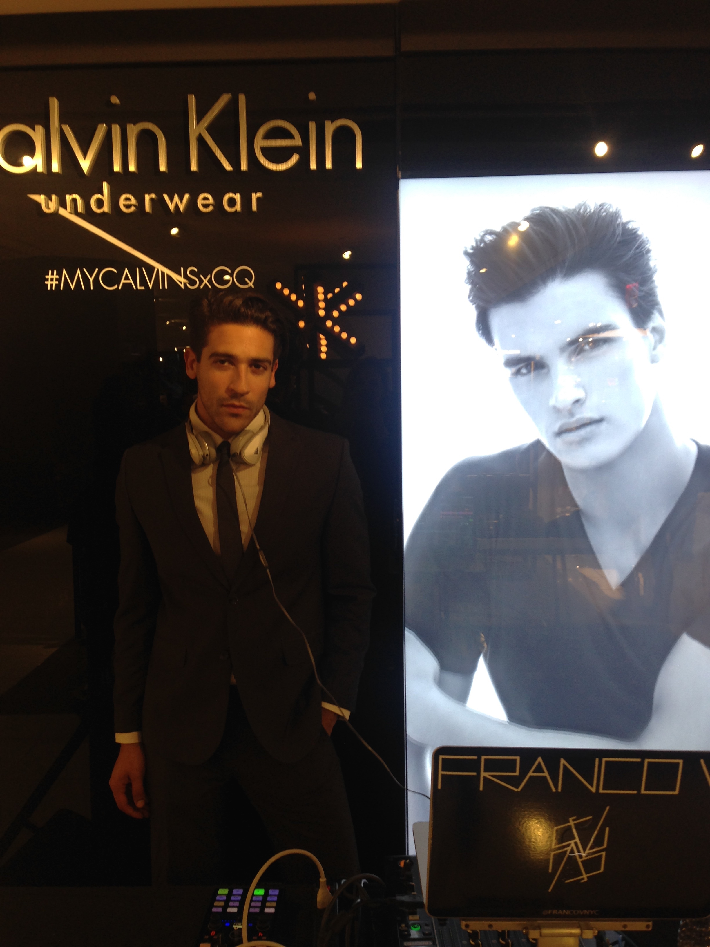 Franco V Djing for Calvin Klein x GQ