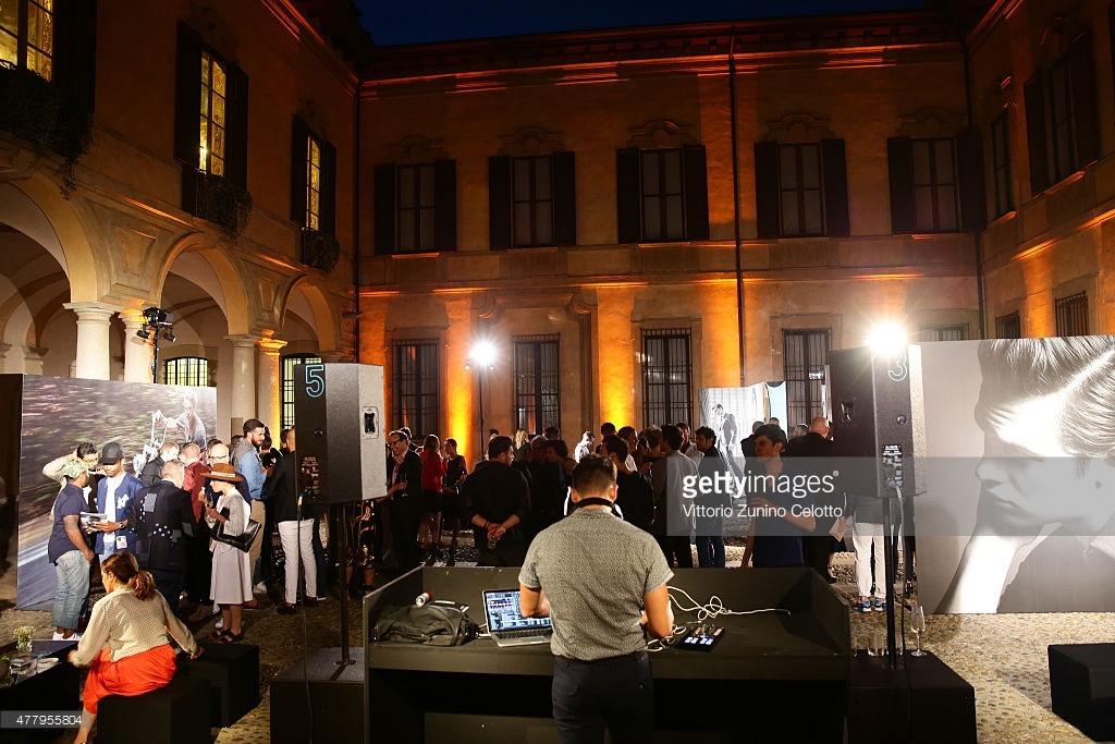 Details Magazine Milan Fashion week party 2015