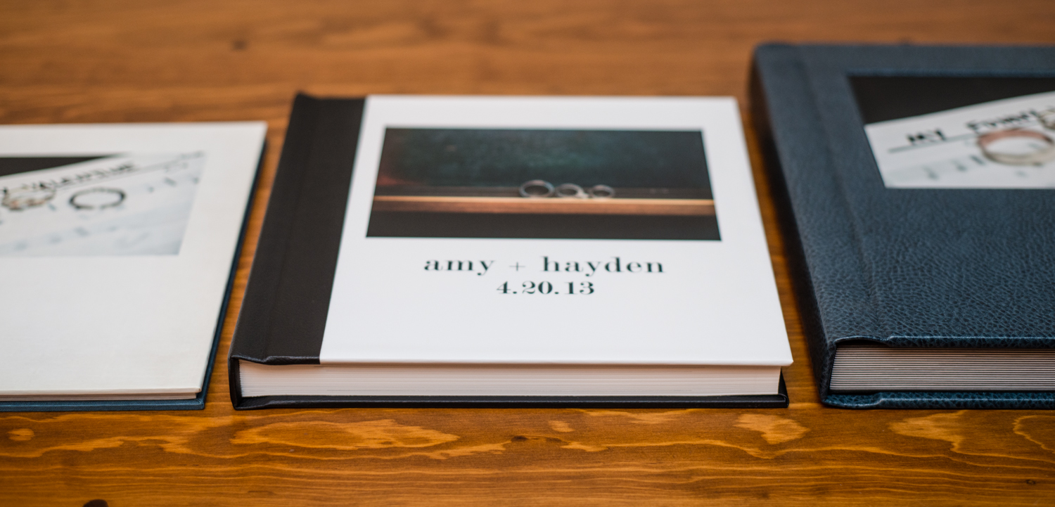 coffee table book, modern album + classic album