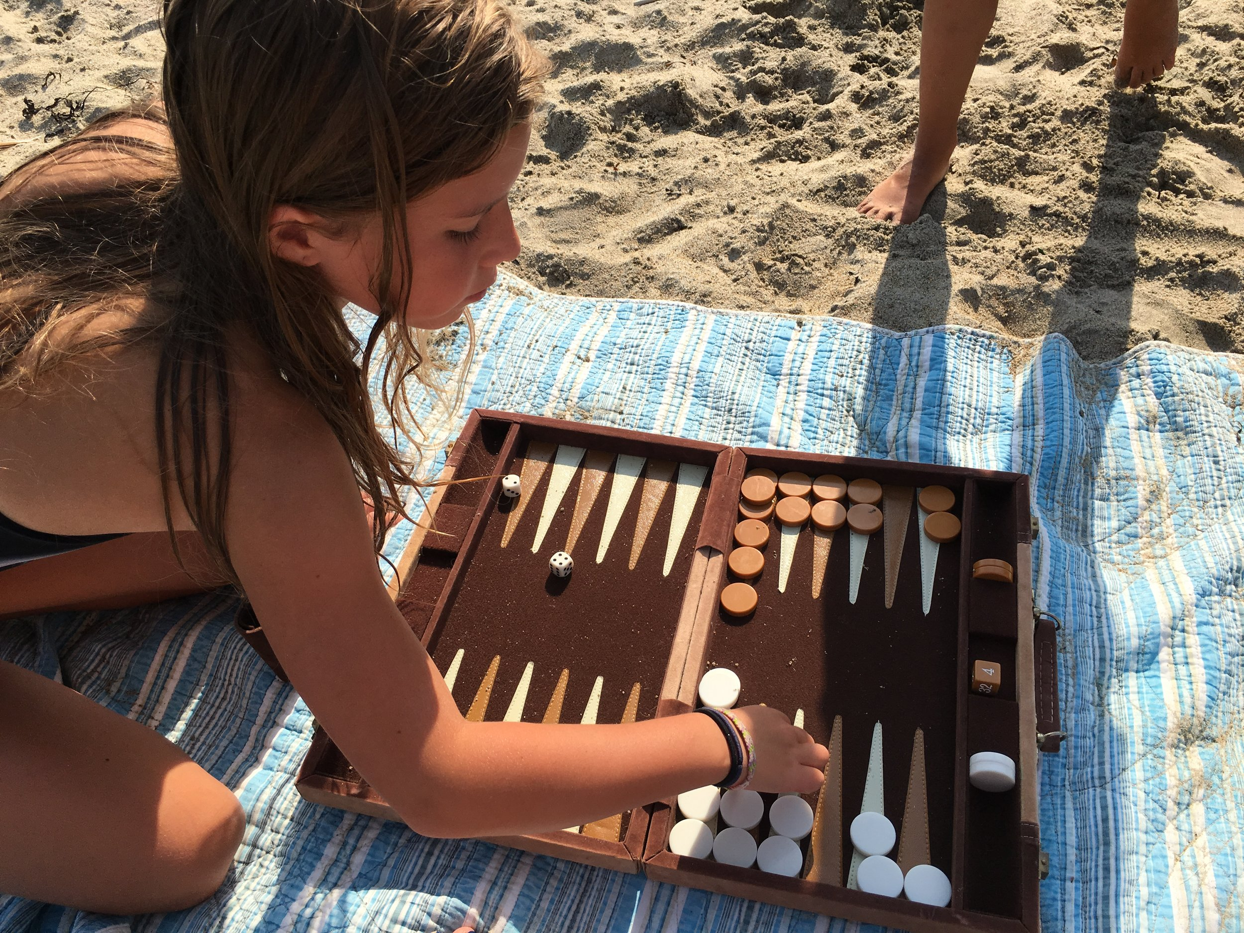 Beach Backgammon