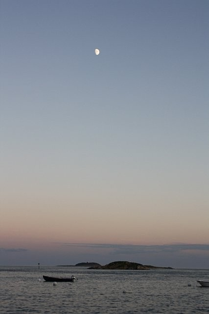 Moon over the Islands