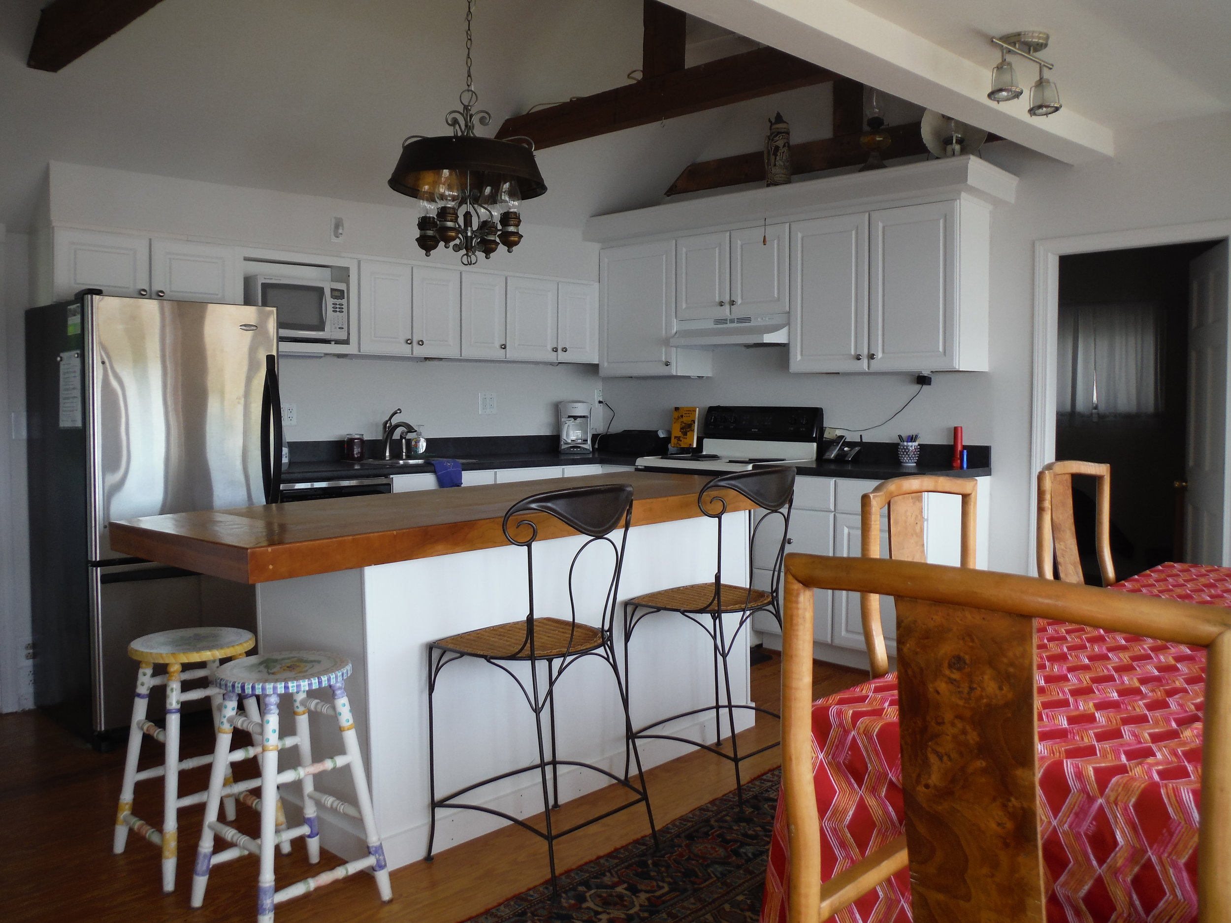 Kitchen island seating and dining table