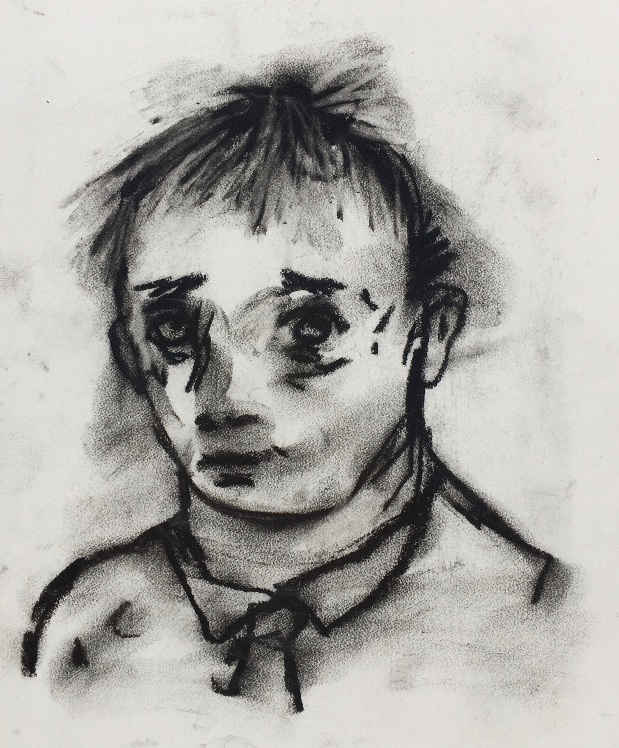 You    Charcoal on paper  2011  7 x 8.5 In  $700.00