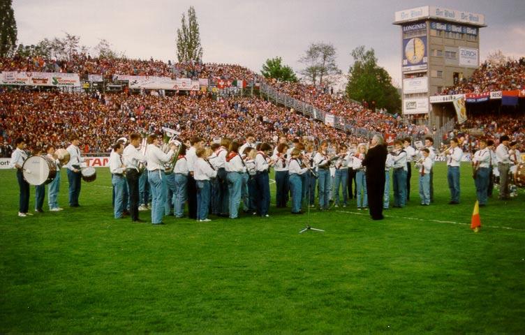 1993: Am Länderspiel im Wankdorfstadion