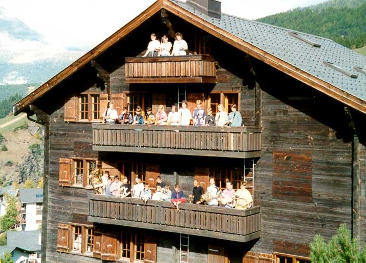 1995: Musiklager Visperterminen