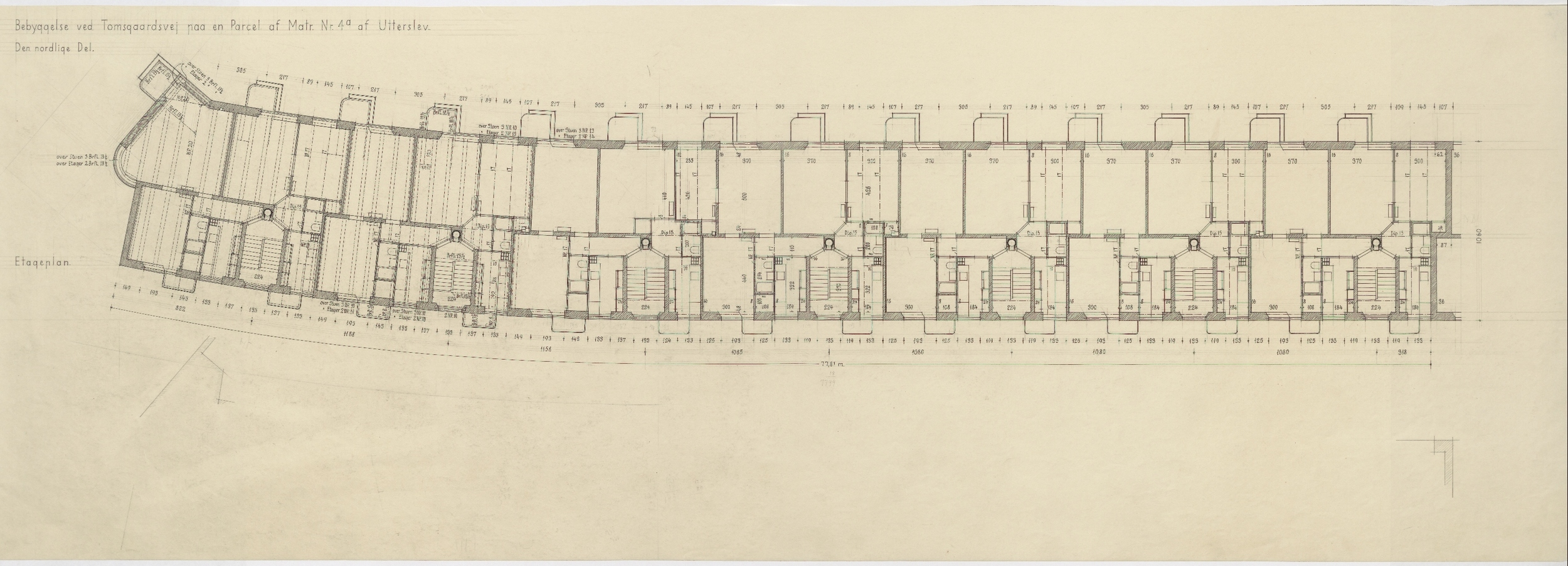 Plan from the collection of the Danish National Art Library