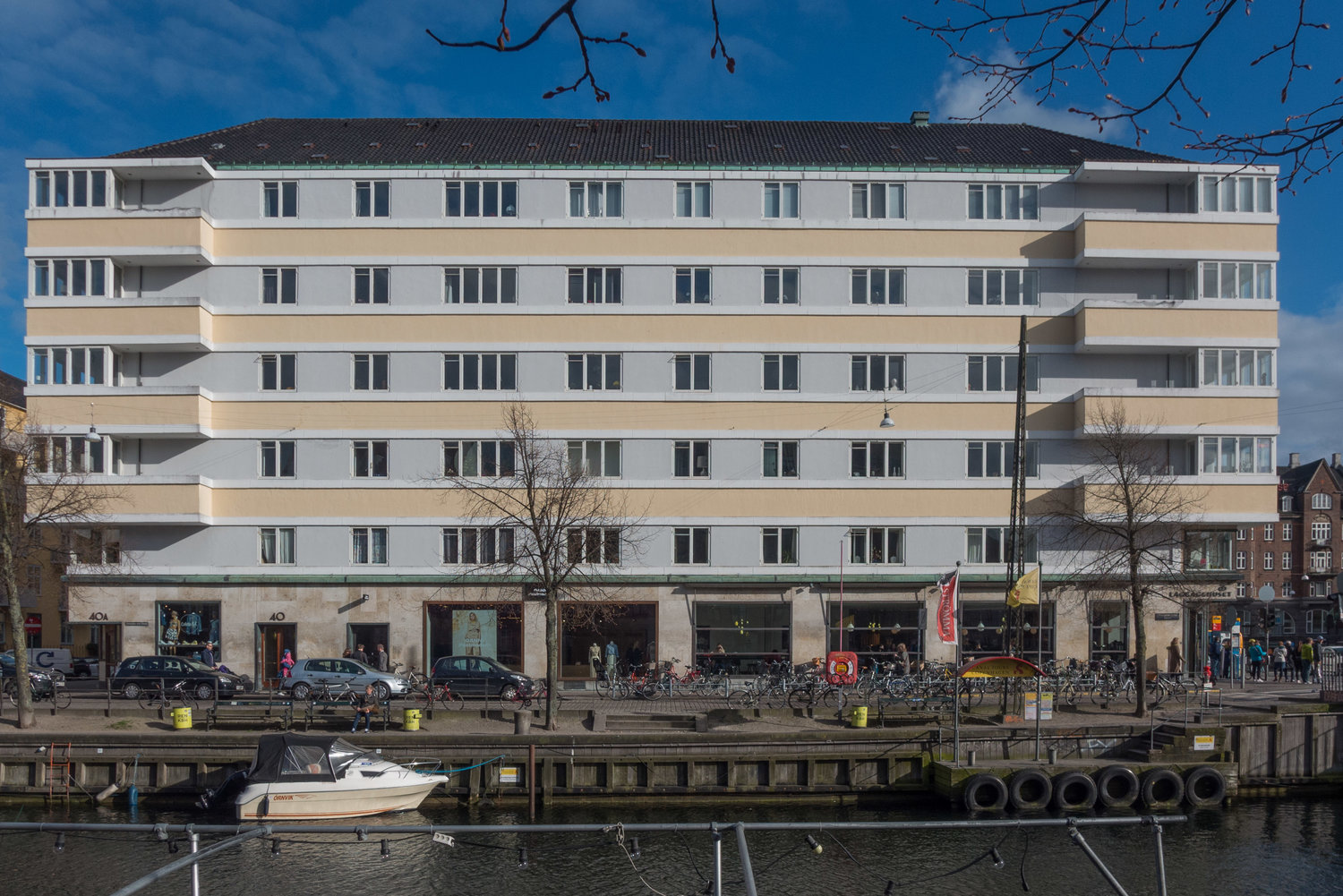 apartment buildings from the 1930s — Copenhagen by design