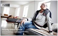 Intervju med Kjell A Nordström för Konsulten, mars 2010.   Foto: Fredrik Persson