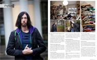 Intervju med Michael Dahlén för Konsulten, december 2011.   Foto: Mats Åsman