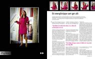 Intervju med Alexandra Pascalidou för Konsulten, september 2010.   Foto: Krister Hansson