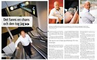 Intervju med Christian von Koenigsegg för Konsulten, septemer 2011.   Foto: Mats Åsman