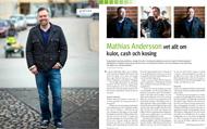 Intervju med Mathias Andersson för Konsulten, april 2012.   Foto: Mats Åsman