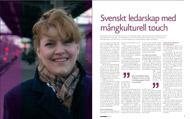 Intervju med Minoo Akhtarzand för Framtidsdalen Magazine 2008.