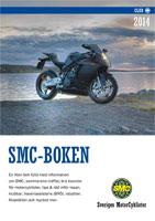 Form och sättning. Sveriges MotorCyklister, SMCs årliga kalender med information   för MC-åkare.