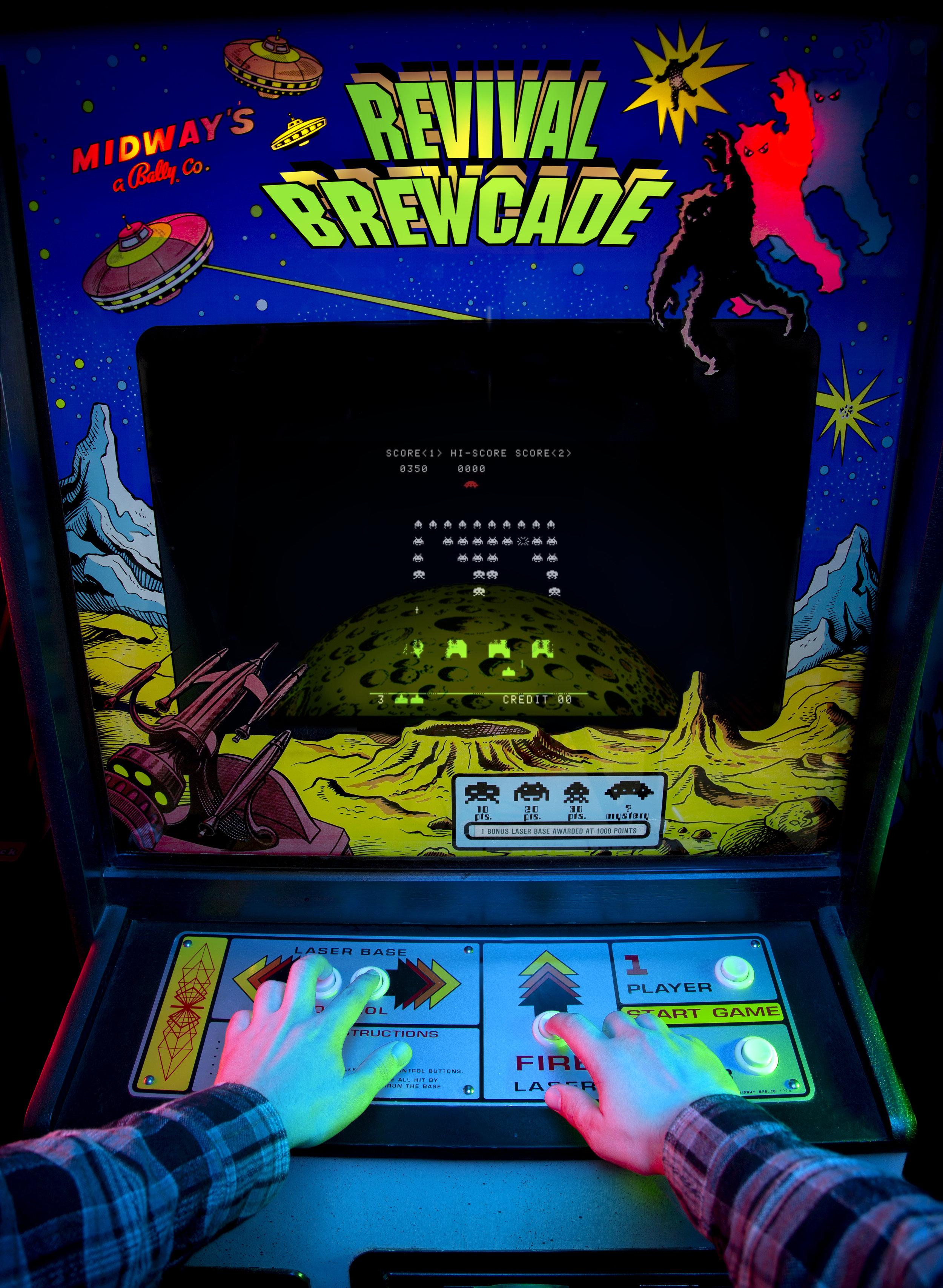 Revival Brewcade - Space Invaders