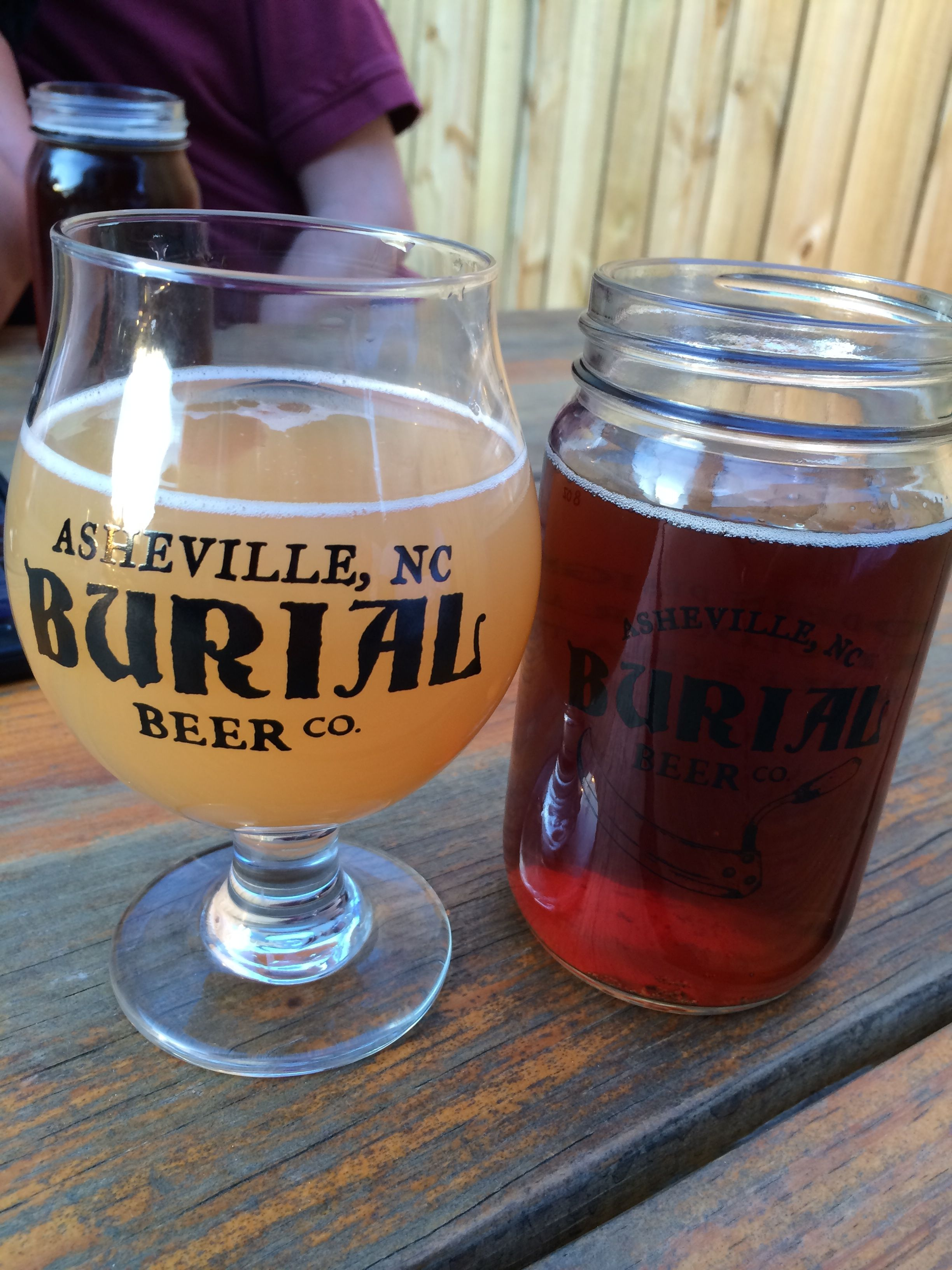 Yummy Beer from Burial Beer Co.