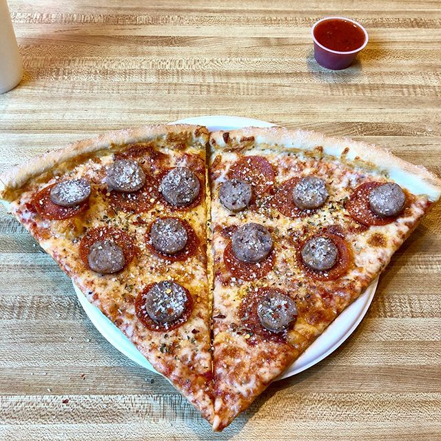 #Pepperoni and #sausage #pizza