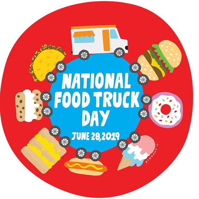 National Food Truck Day is this Friday!  @elkimchifoodtruck is offering a free side for the first 50 people, and they'll be at @newbelgium_avl from 11-8ish.