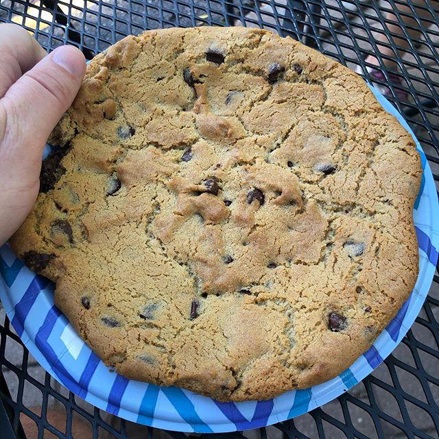 Yuge #chocolatechipcookie !