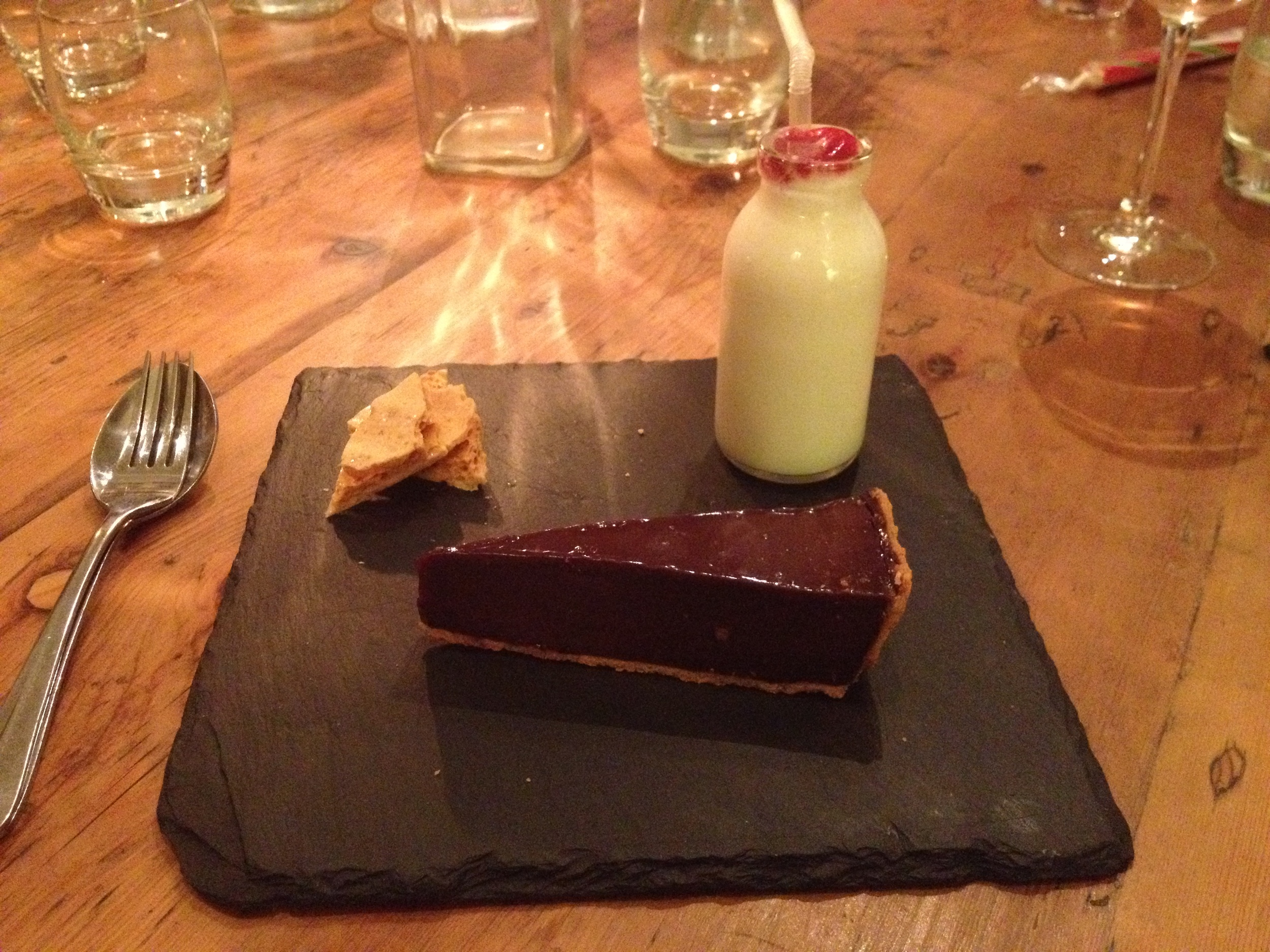 Dessert at the Duncombe Arms