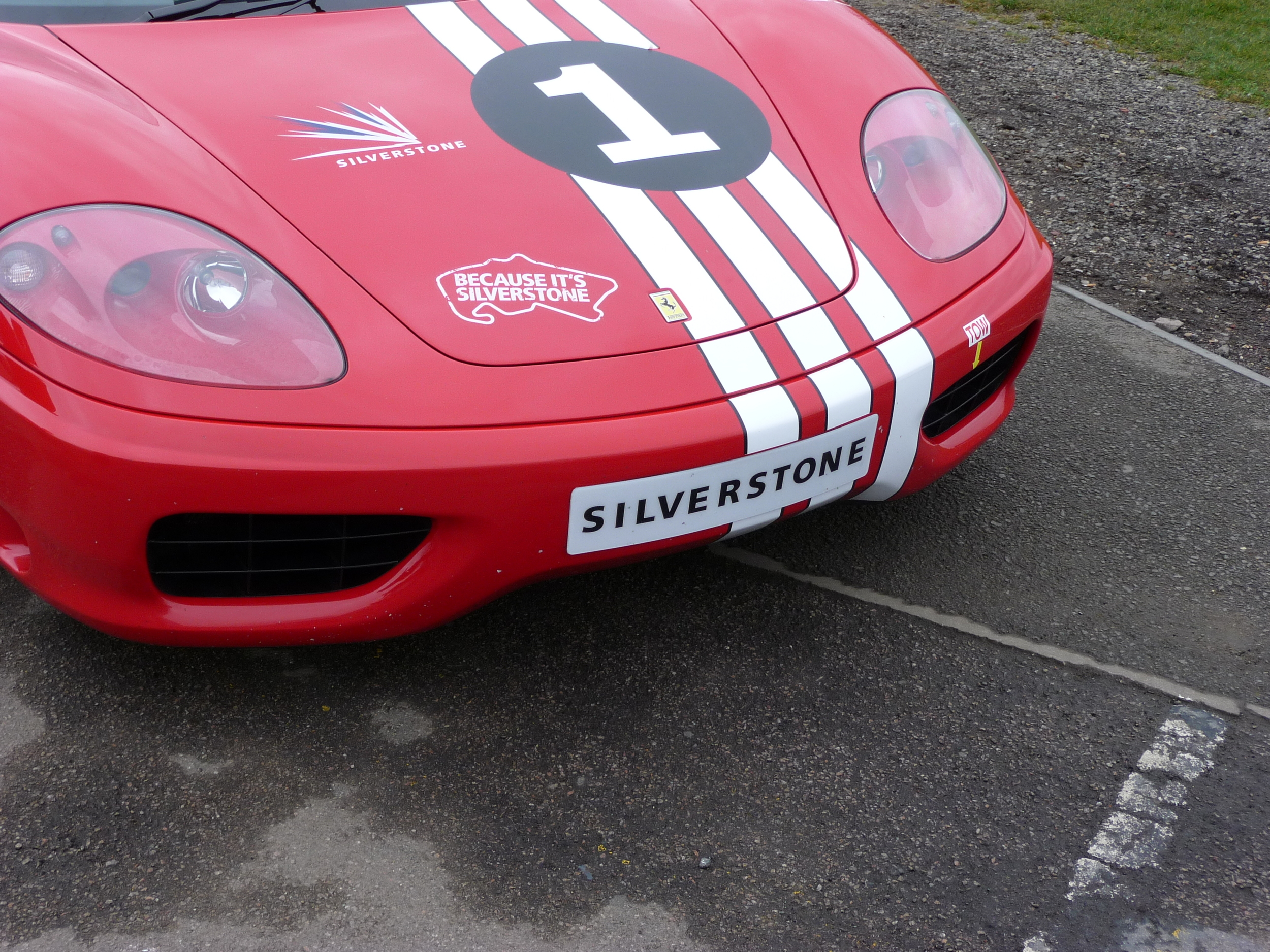 Silverstone's number 1 Ferrari 360 Modena