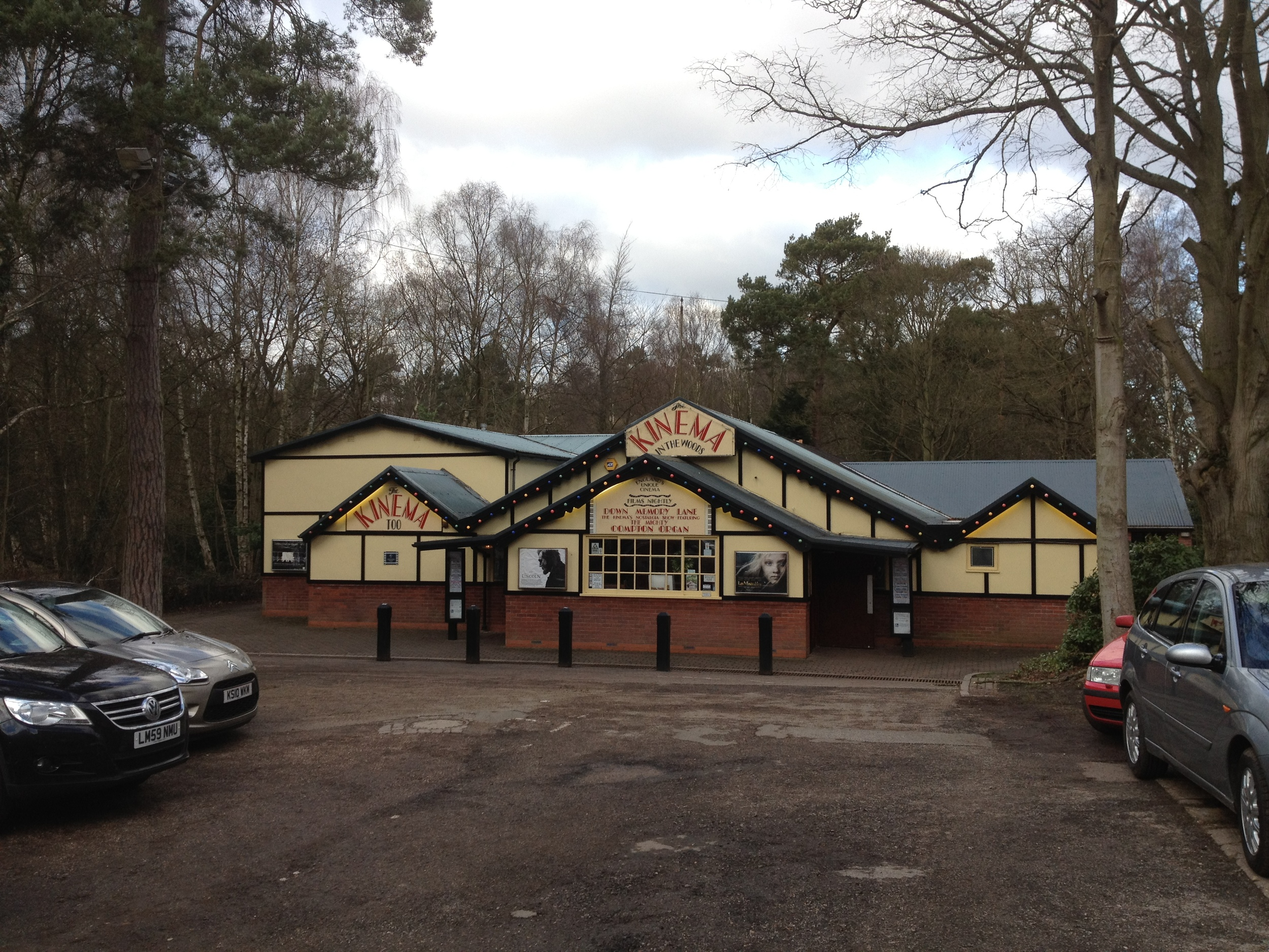 Kinema in the Woods - independent cinema in Woodhall Spa, Lincolnshire