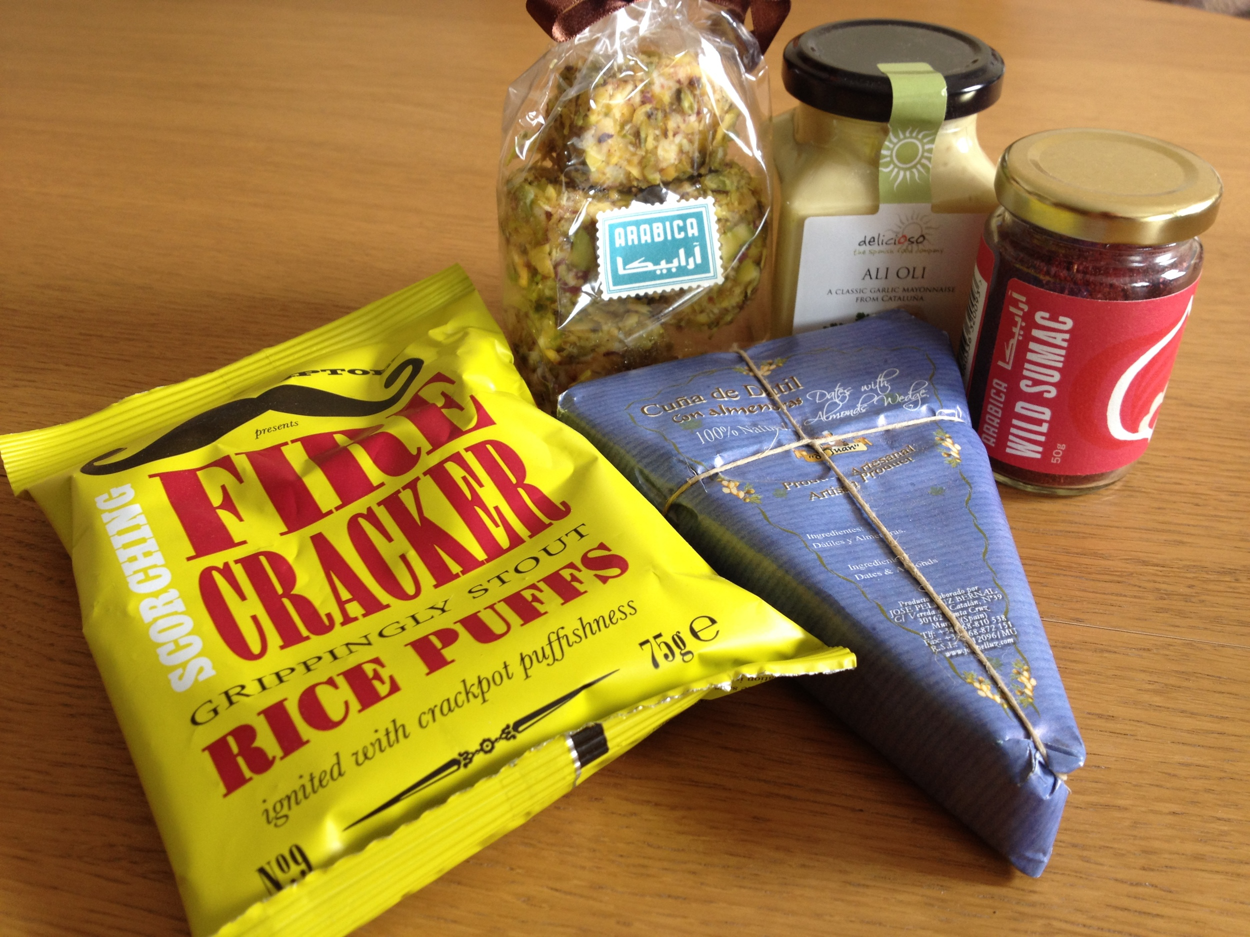 Contents of my first Flavrbox delivery, photo by Paul Forrester
