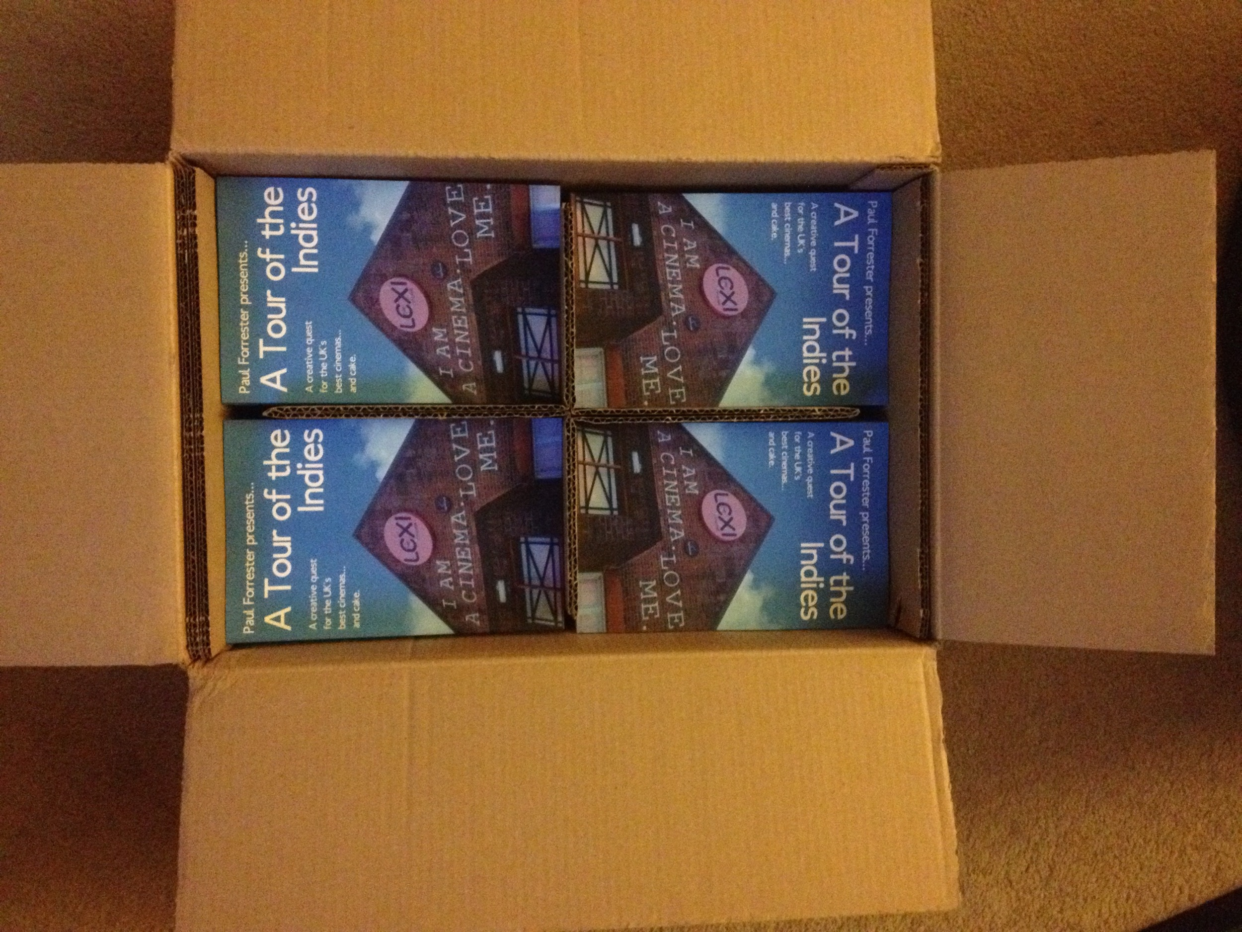 A delivery of copies of  A Tour of the Indies