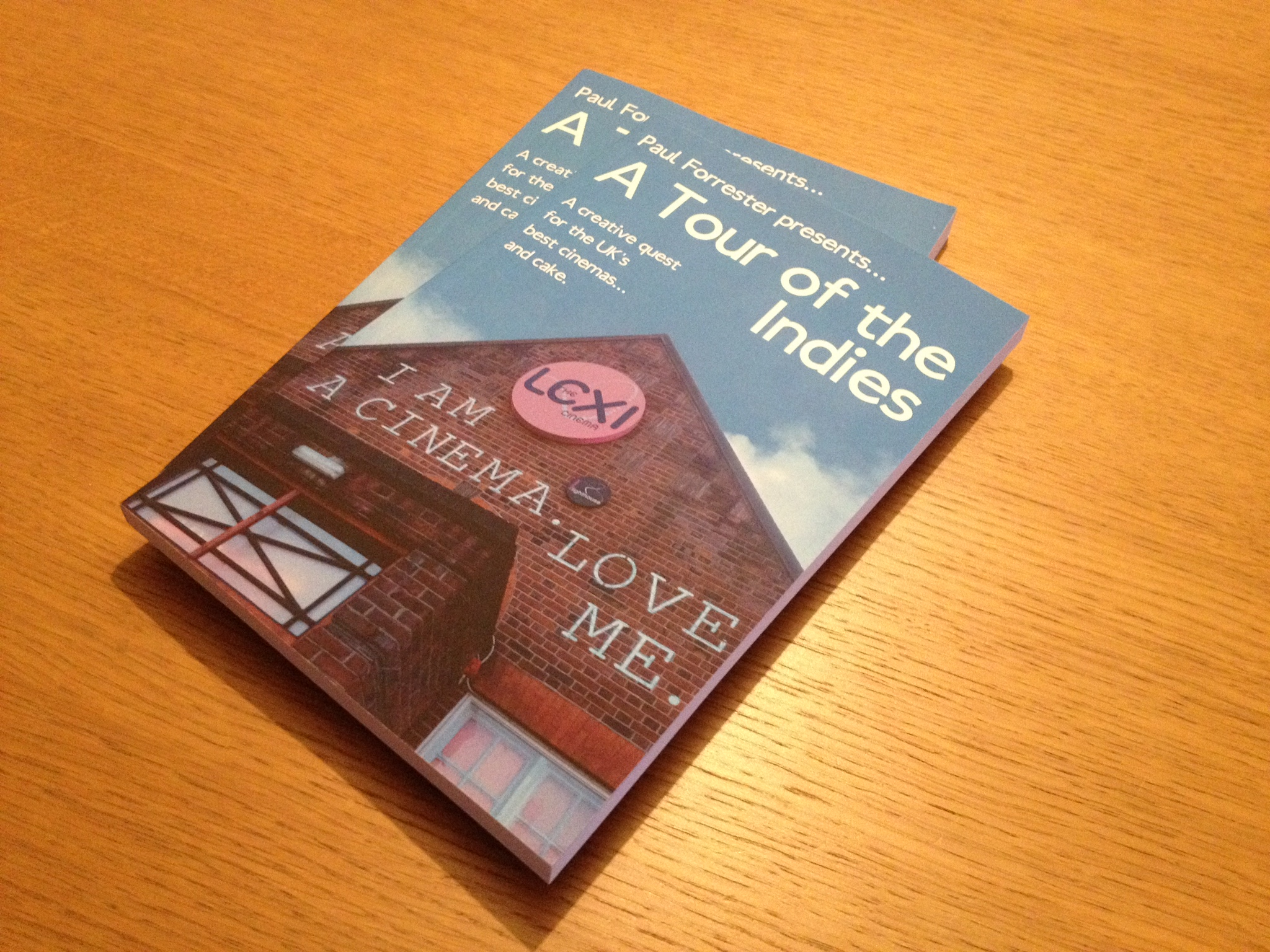 Two remaining copies of  A Tour of the Indies  from the box of fifty (photograph by Paul Forrester)