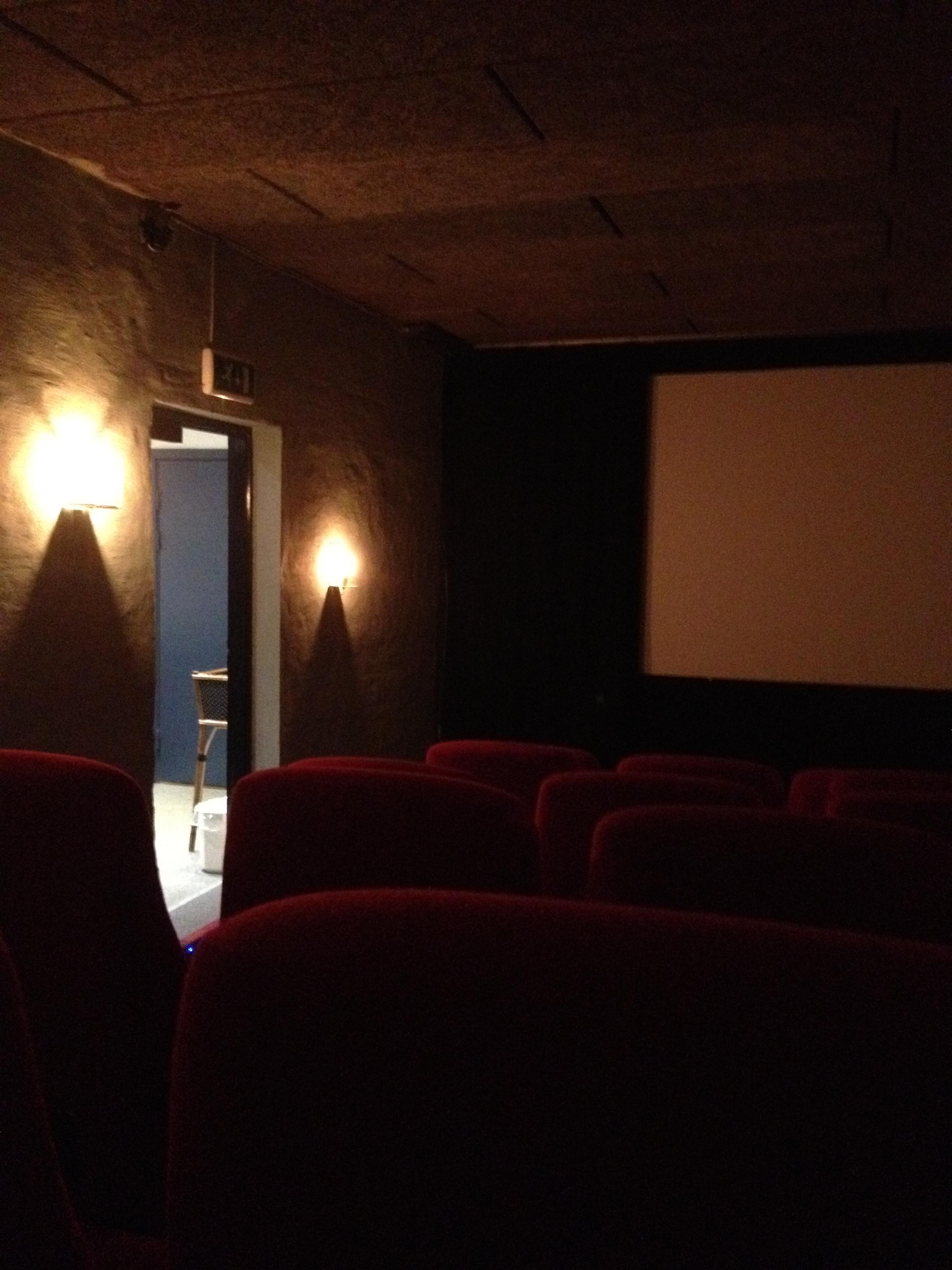 Inside Vester Vov Vov's second screen (photo by Paul Forrester)