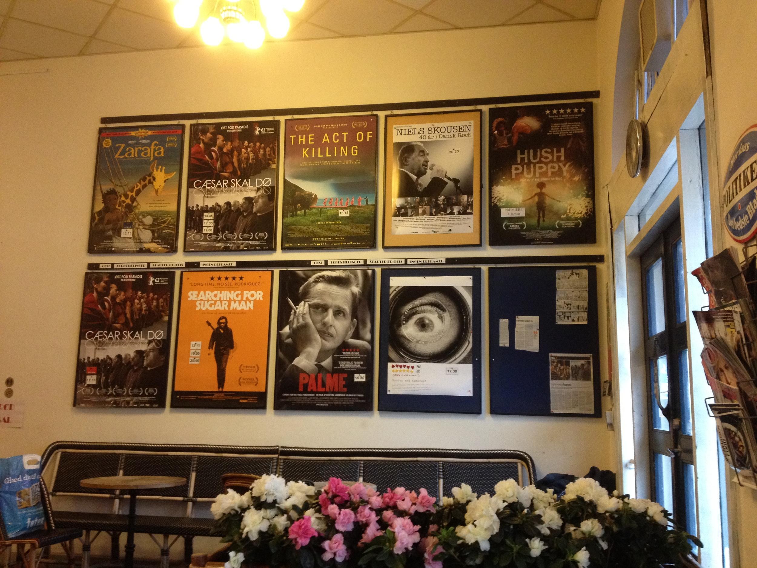 Inside the foyer of Vester Vov Vov (photo by Paul Forrester)