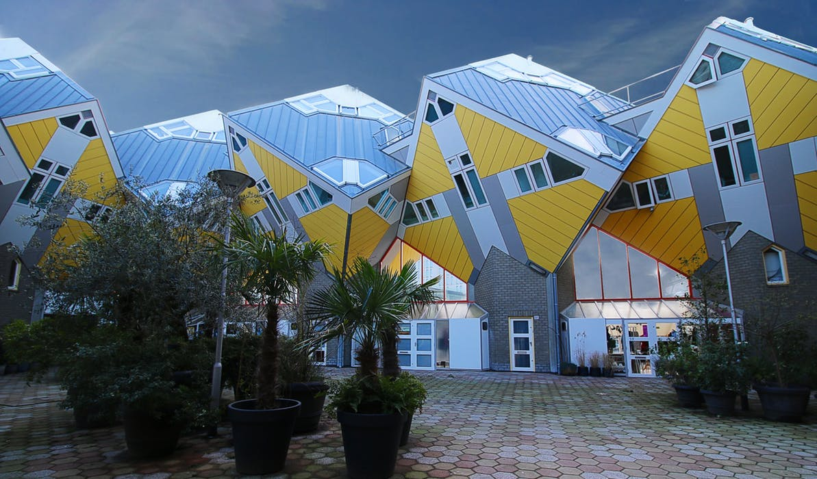 A stereotype of what artist-led housing might look like?