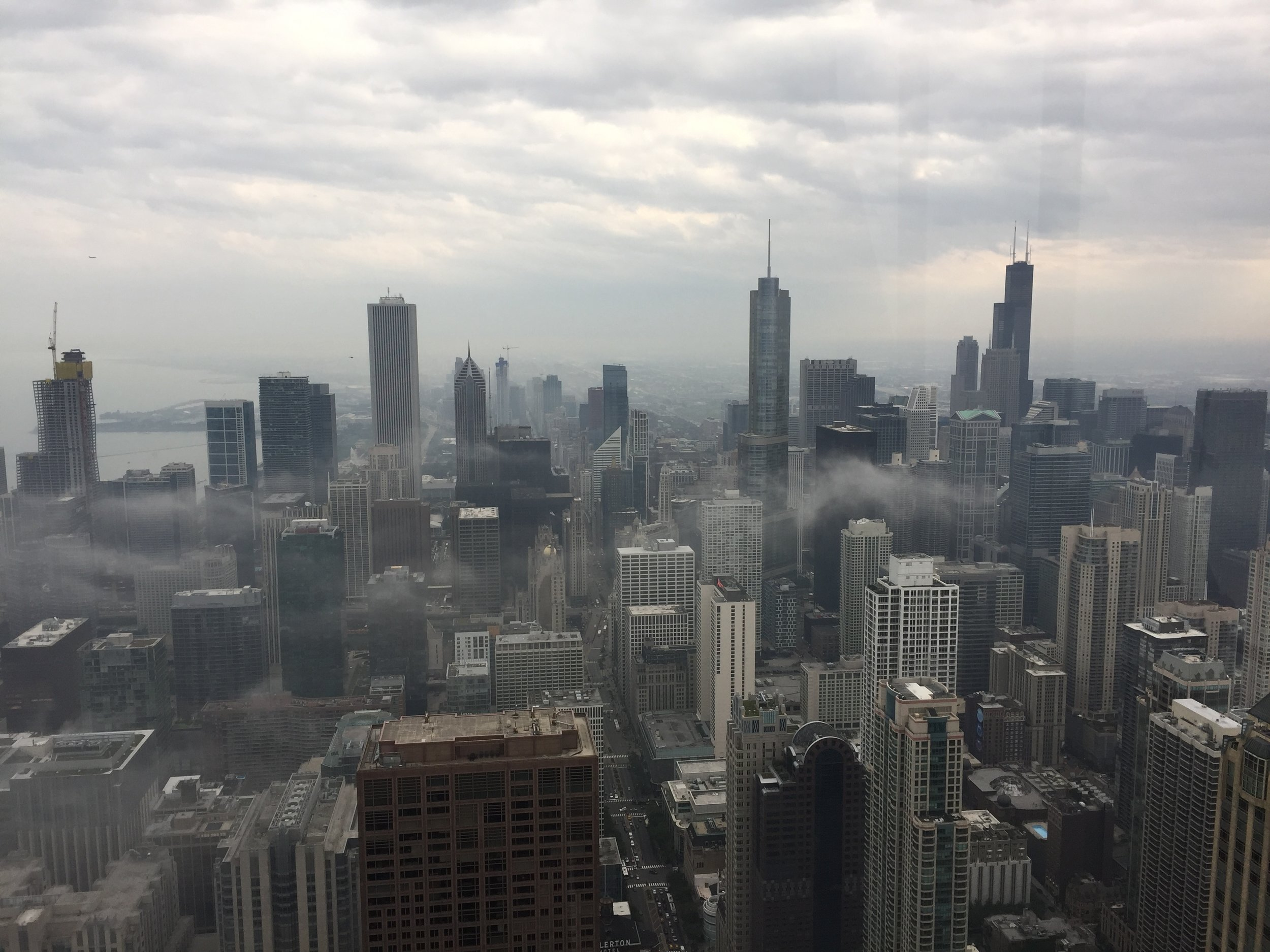 Chicago: the cloudy city (as it isn't known).