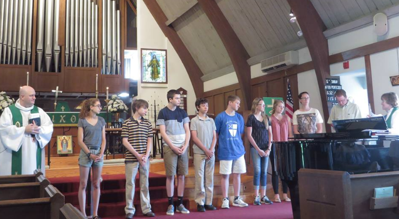 Blessing our youth as they prepare for Good Neighbor's