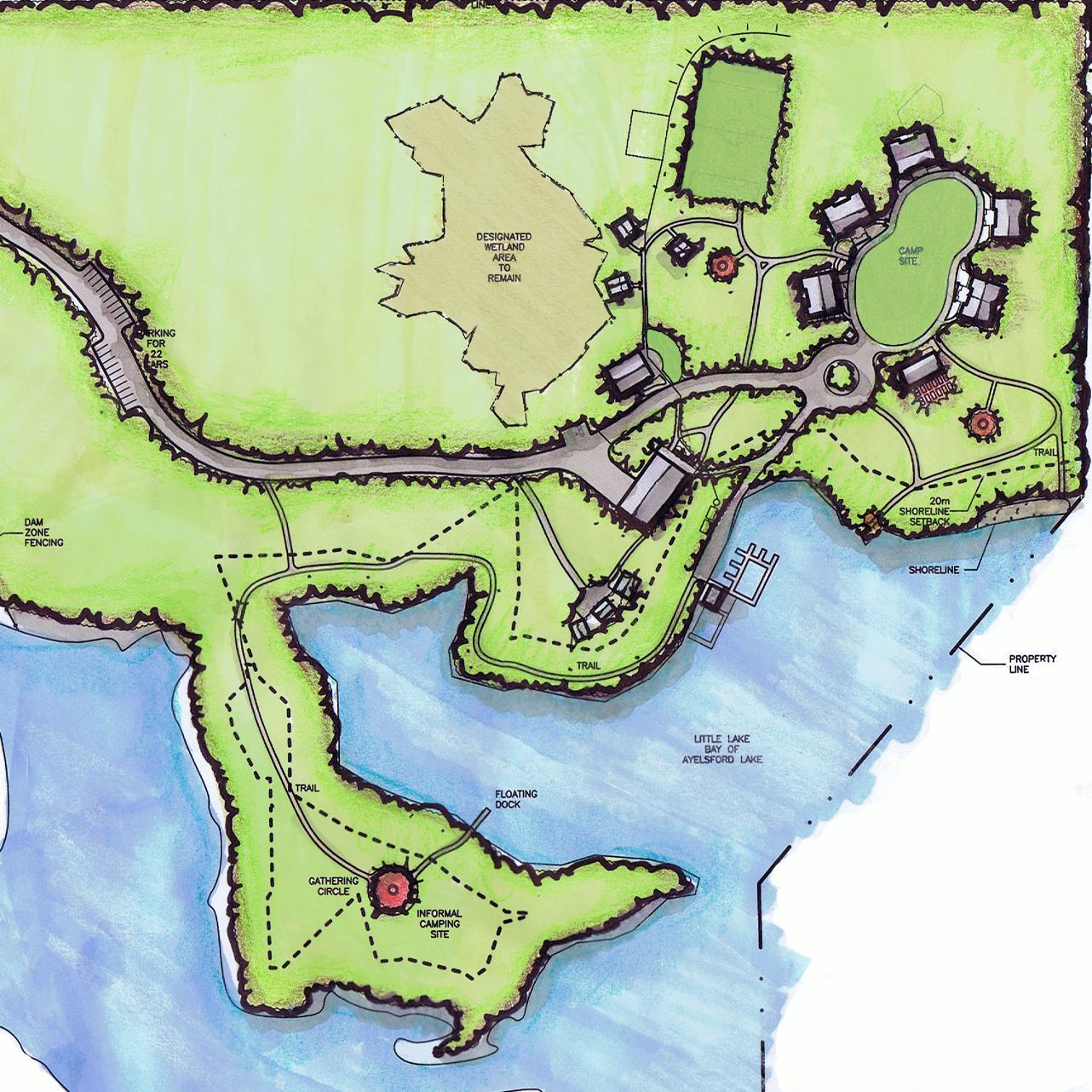 Brigadoon Village Camp Master Plan,  Aylesford, NS